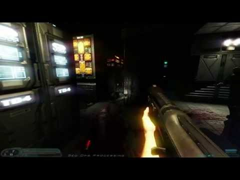 Mod Showcase - Doom 3 with Sikkmod and Parallax Occlusion Mapping