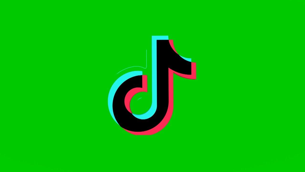 TikTok Logo Green Screen - YouTube