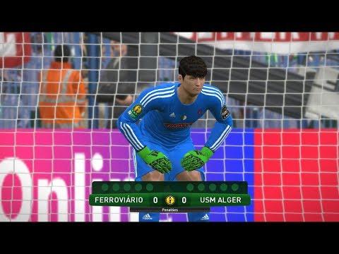 Ferroviario da beira vs usm Alger   CAF Champions League quarter finals   Penalty Shootout Gameplay