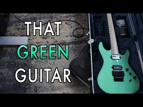 What's That Green Guitar?