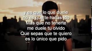 Felipe Santos   Olvidarte Feat  Cali Y El Dandee Letra