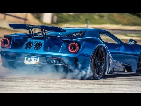 Top Gear : on track in the new Ford GT supercar