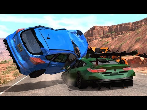 Crash Testing Real Car Mods #2 - Beamng Drive Car Crashes Co