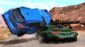 Crash Testing Real Car Mods #2 - Beamng Drive Car Crashes Compilation
