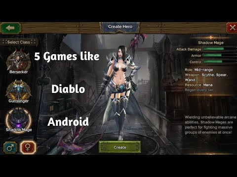 5 Games Like Diablo Android Online ARPG Games