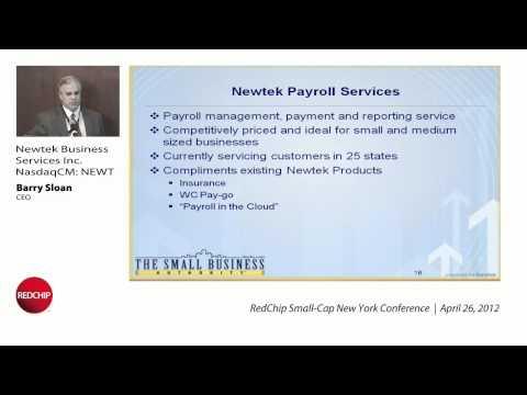 NEWT Newtek Business Services Investor Presentation