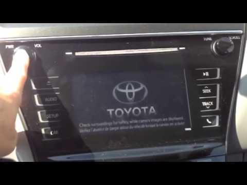 2015 Toyota Prius V - Multi- Function Display Not Working - 2