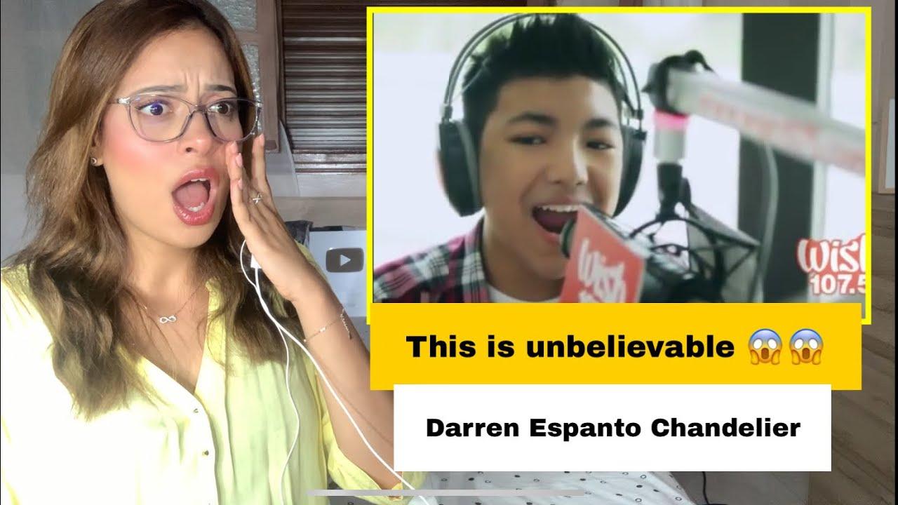 Darren Espanto   Chandelier   VOCALIST REACTION