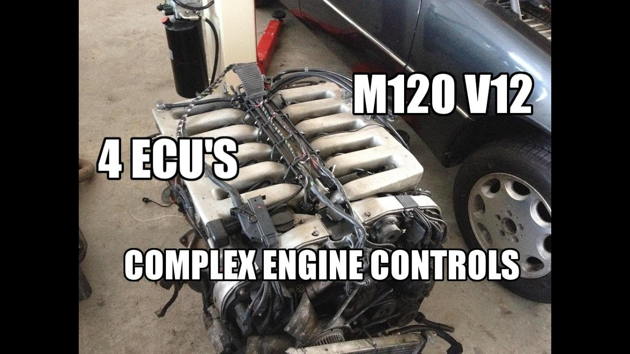 Mercedes 600 Sel W140 Complex Engine Controls W201 V12 Project Wiring Harness For 1995 S600 Coupe Jmspeedshop