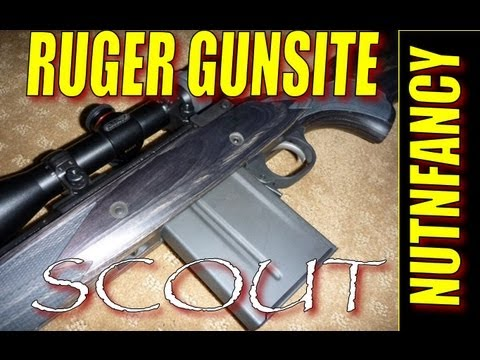 Ruger Gunsite Scout Review By Nutnfancy