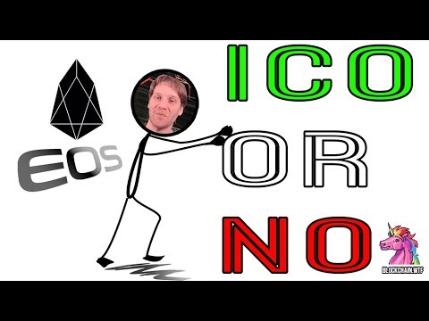 ICO Or NO: EOS Smart Contract Based Platform!