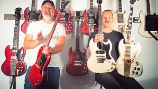 Top 10 Iconic Gibson SG Models - and the artists who played them