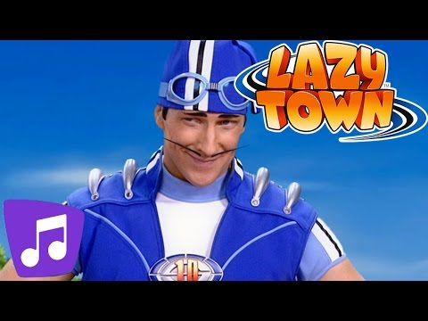 Lazy Town Deutsch | DER GRUSEL-SONG | Musikvideo