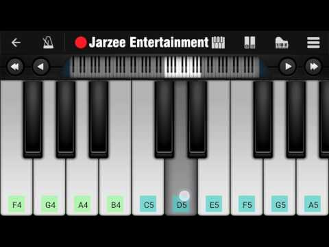Enna Sona (Ok Jaanu), Arijit Singh, A.R Rahman - Mobile Perfect Piano Tutorial