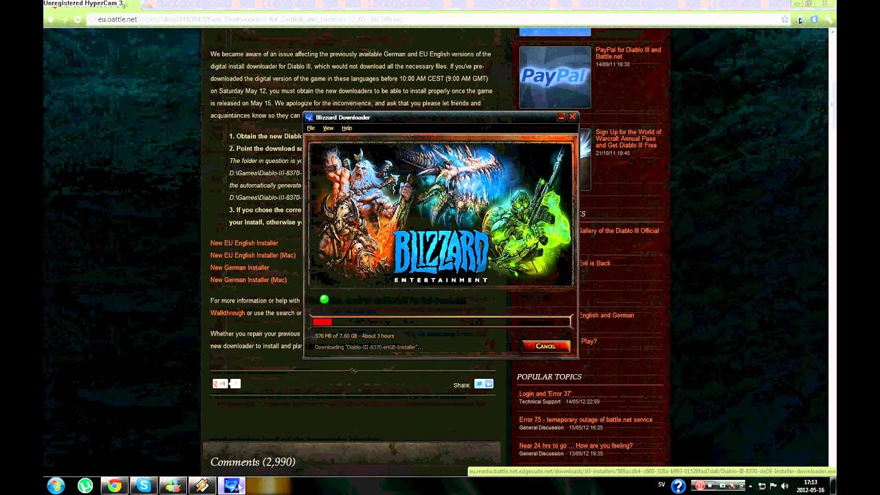how to get diablo 3 full version for free
