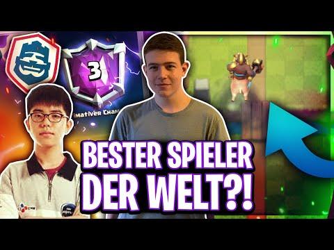 😳BESTER SPIELER DER WELT? CRL ASIEN CHAMPION MACHT KEINE FEHLER! Clash Royale Deutsch/german