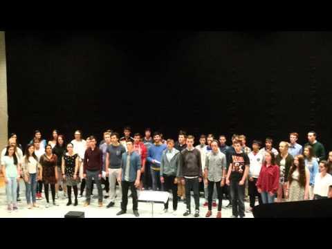 IYTC 2015 Thinking out Loud   Ed Sheeran (Irish Youth Training Choir)