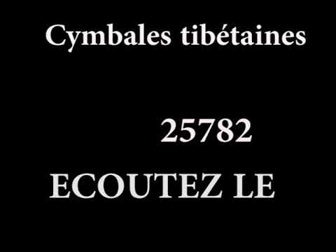25782 Cymbales tibetaines 030118