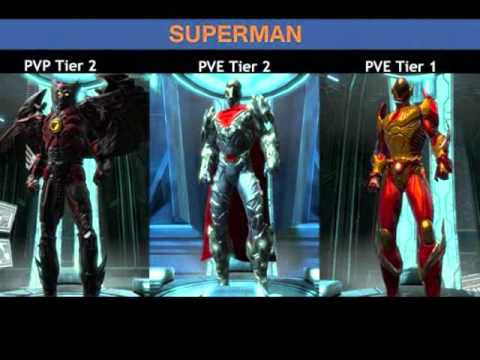 Dc Universe Online Hero Iconic Battle Suits Guide Pre Game Update