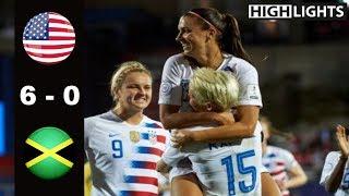 USA vs Jamaica 6 - 0 All Goals & Highlights | CWC Semi - Final | October 14, 2018