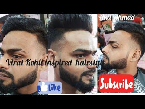 Virat Kohli hairstyle inspired Haircut and beard 2018