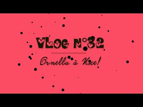 VLOG N°32: Ornella à Nice! (Lit de youtubeuse,tournage,chansons,foire,live,cinema muet)