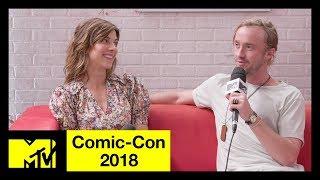 'Origin' Stars Tom Felton & Natalia Tena on the New Trailer & Filming Locations | Comic-Con 2018