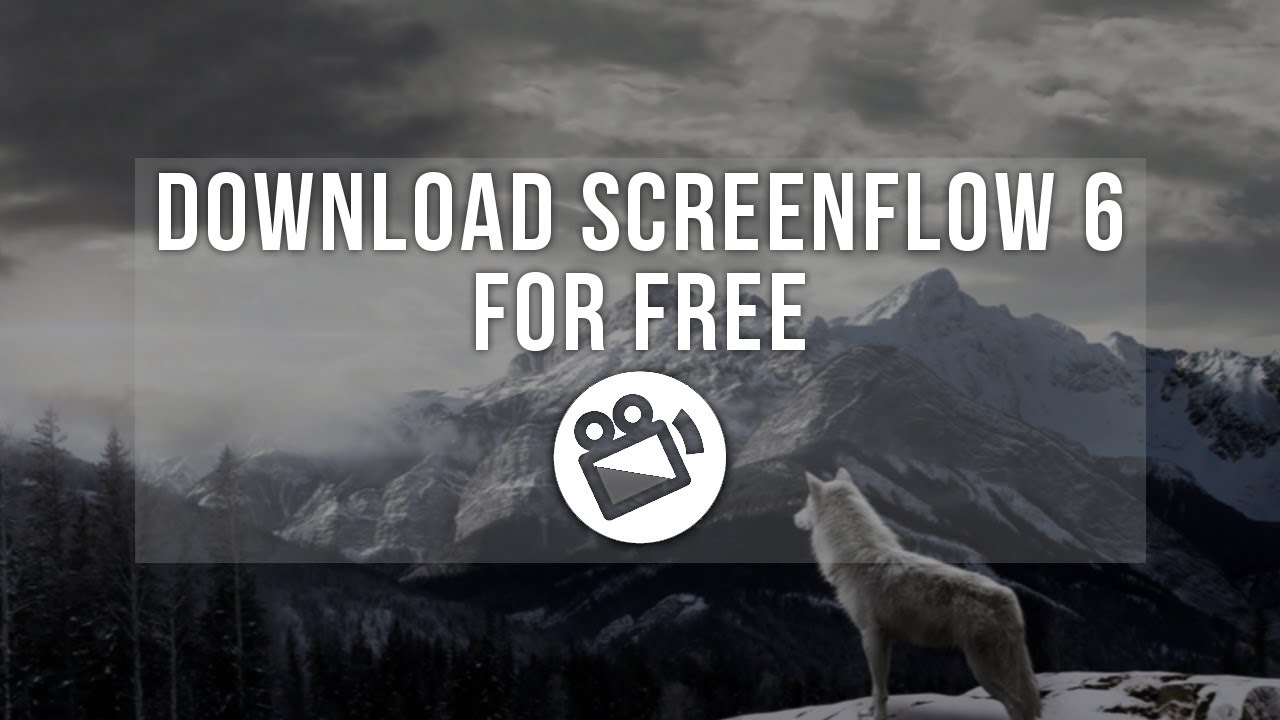 MAC How To Download SCREENFLOW 6 For FREE