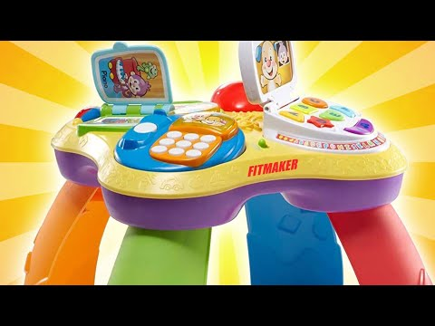 BEST ACTIVITY TABLE FOR BABIES | Fisher-Price Laugh & Learn Puppy & Friends Learning Table Review