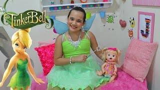 BABY ALIVE RECEBE VISITA DE TINKER BELL! PARTE 1 - JULIANA BALTAR