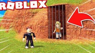 ROBLOX WIĘZIENIE - BELLA JEST W SEKRETNYM MIEJSCU?! (Roblox Roleplay Jailbreak) - Vito i Bella