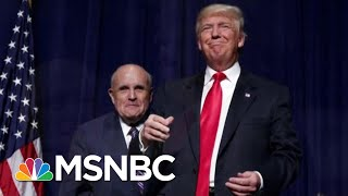 Leaked Testimony Unveils President Donald Trump's 'Shadow Foreign Policy' | Velshi & Ruhle | MSNBC