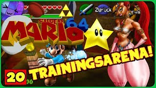 Die GERUDO TRAININGSARENA! #20 ⚔️ SUPER MARIO 64 OCARINA OF TIME Deutsch