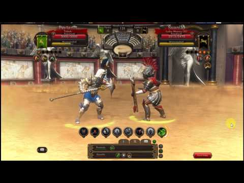 Gladiators Online - T10 fight, Prytanis (hoplomahus) vs MurmilloAI