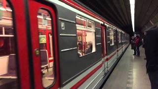 Slow Motion of the Metro in Prague