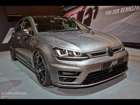 VW Golf 7 R Tuning by ABT Sportsline - 2014 Essen Motor Show [Live Photos]