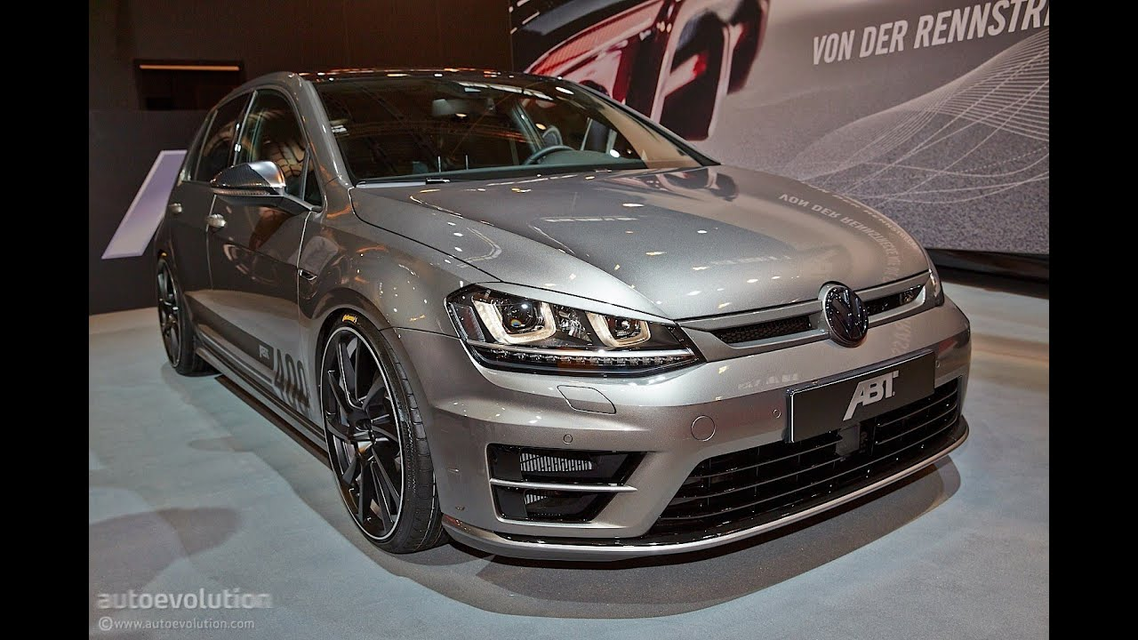 vw golf 7 r tuning by abt sportsline 2014 essen motor. Black Bedroom Furniture Sets. Home Design Ideas