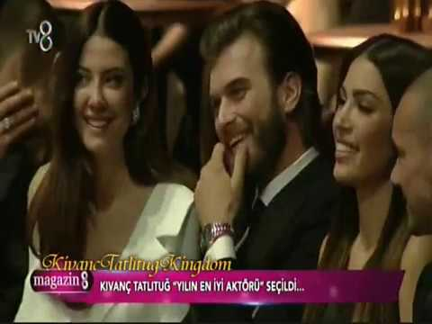 KIVANÇ TATLITUĞ_(Man Of The Year _ best actor)  Magazin 8 _(18.2.2017)