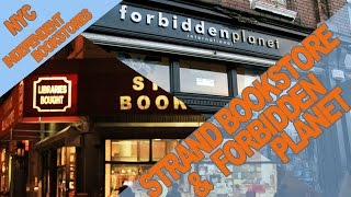 Strand Bookstore & Forbidden Planet