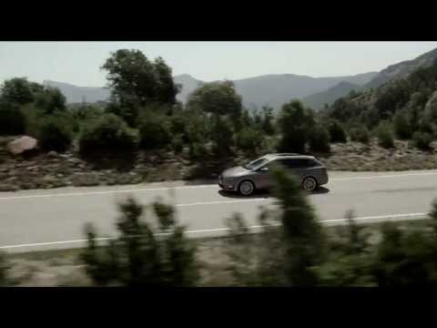 2014 Seat Leon ST driving footage