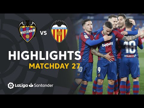 Levante Valencia Goals And Highlights