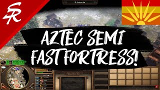 Aztec Semi-Fast Fortress!! | Strategy School | Age of Empires III