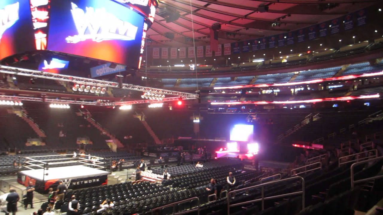 Lovely Inside Madison Square Garden Before WWE RAW   July 12th 2014 Awesome Ideas