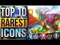 TOP 10 RAREST SUMMONER ICONS IN LEAGUE OF LEGENDS