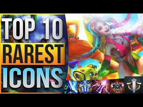 TOP 10 RAREST SUMMONER ICONS IN LEAGUE OF LEGENDS - YouTube