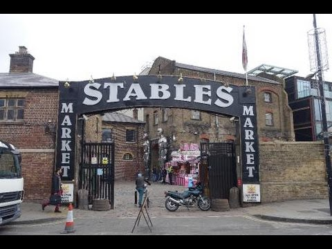 Camden Stables Market - Journey to the Mixy Fandino Store