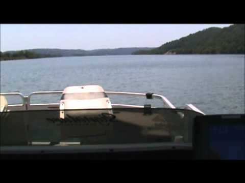Top speed on my 18' pontoon with a 50hp motor