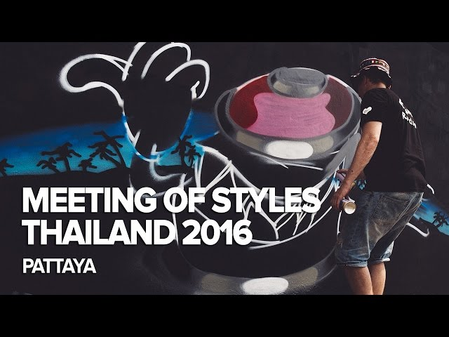 Meeting of Styles Thailand 2016, Pattaya