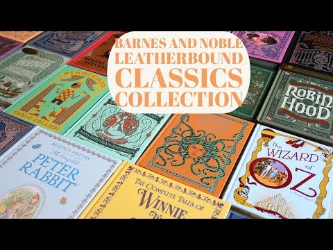 Barnes And Noble Leatherbound Classics Collection Experiment626xx