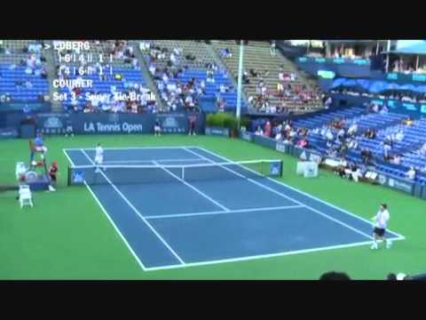 Stefan Edberg vs Jim Courier - Los Angeles 2009 (7 de 8)